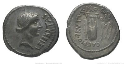 1640JU – Denier Brutus – Quintus Caepio Brutus