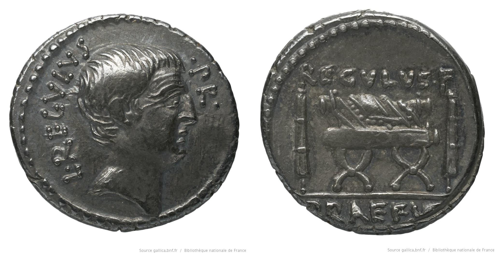 1609LI – Denier Livineia – Lucius Livineius Regulus