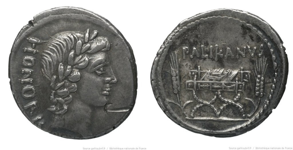 Read more about the article 1504LO – Denier Lollia – Marcus Lollius Palicanus