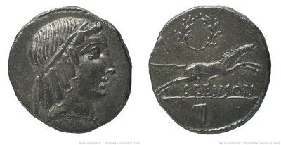 1246MA – Denier Marcia – Caius Marcius Censorinus