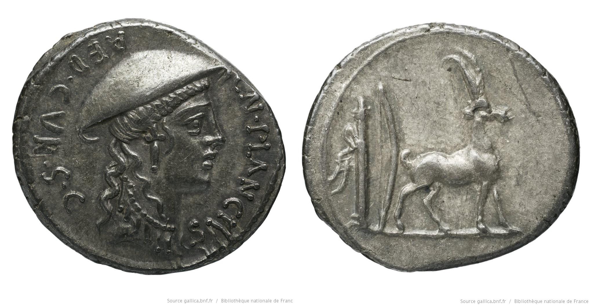 1409PL – Denier Plancia – Cnæus Plancius