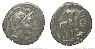 1179PO – Denier Poblicia – Caius Publicius Malleolus