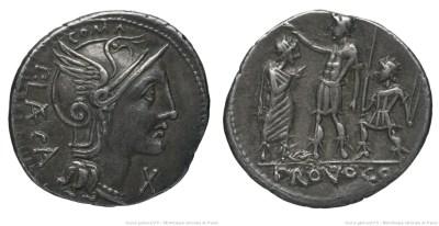 Read more about the article 1116PO – Denier Porcia – Publius Porcius Læca
