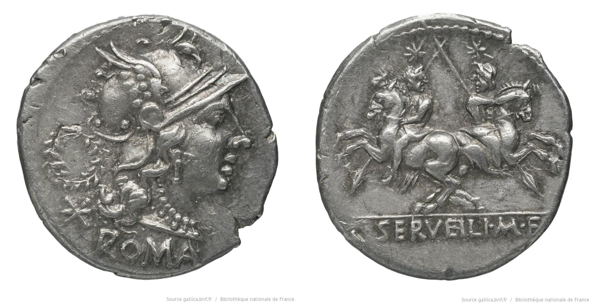 931SE – Denier Servilia – Caius Servilius