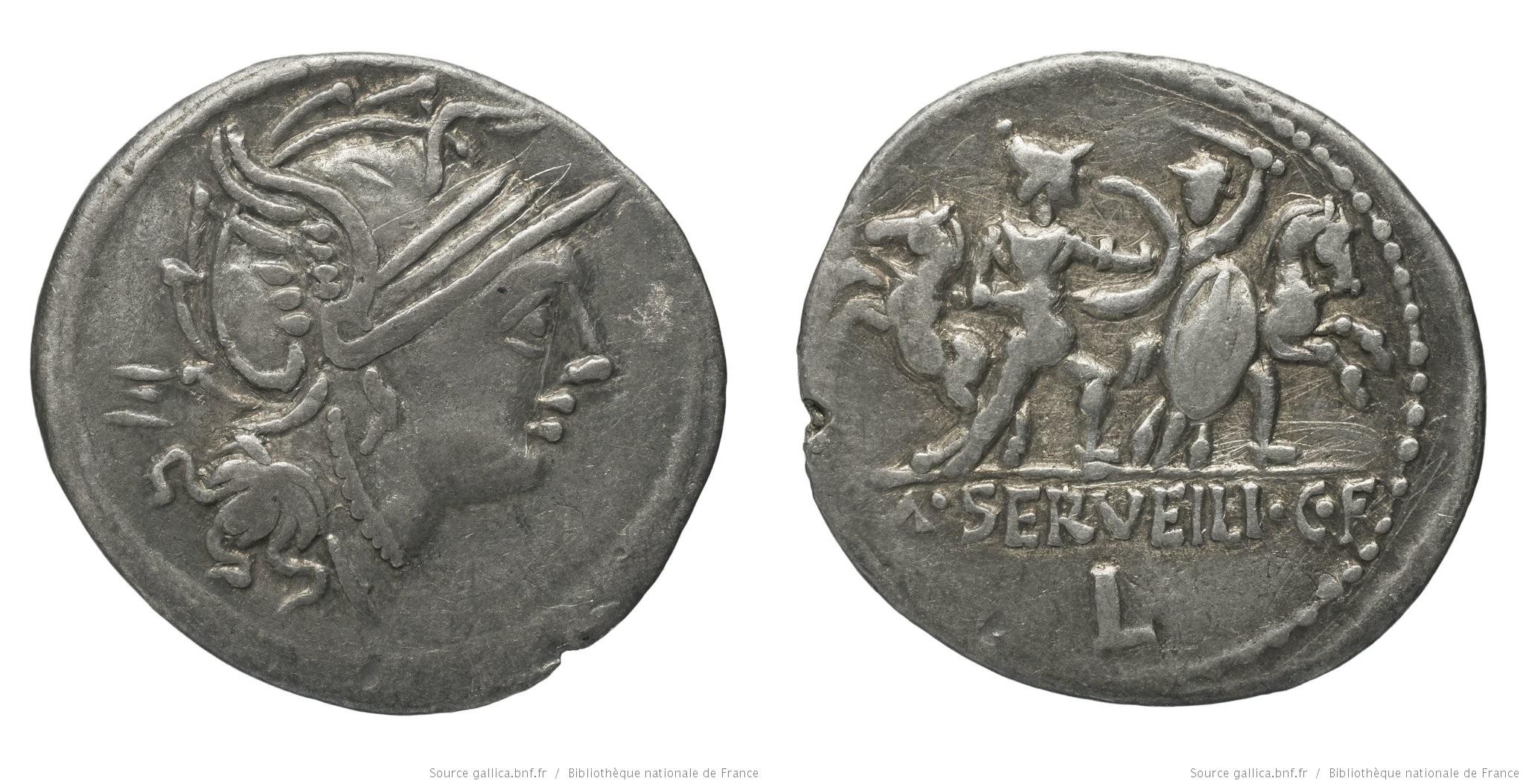 1162SE – Denier Servilia – M. Servilius