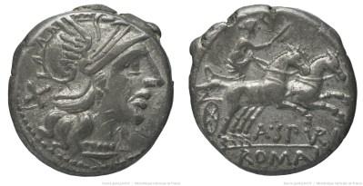 912SP – Denier Spurilia – Aulus Spurilius