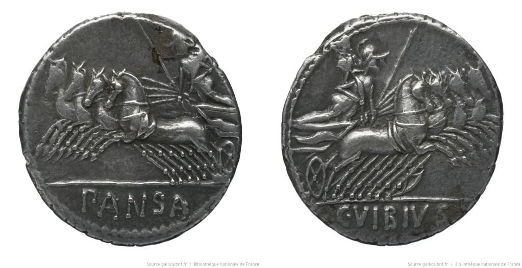 Read more about the article 1224VI – Denier Vibia – Caius Vibius Pansa