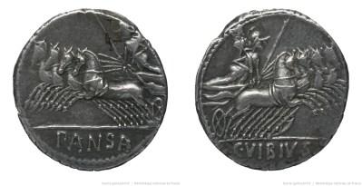 1224VI – Denier Vibia – Caius Vibius Pansa