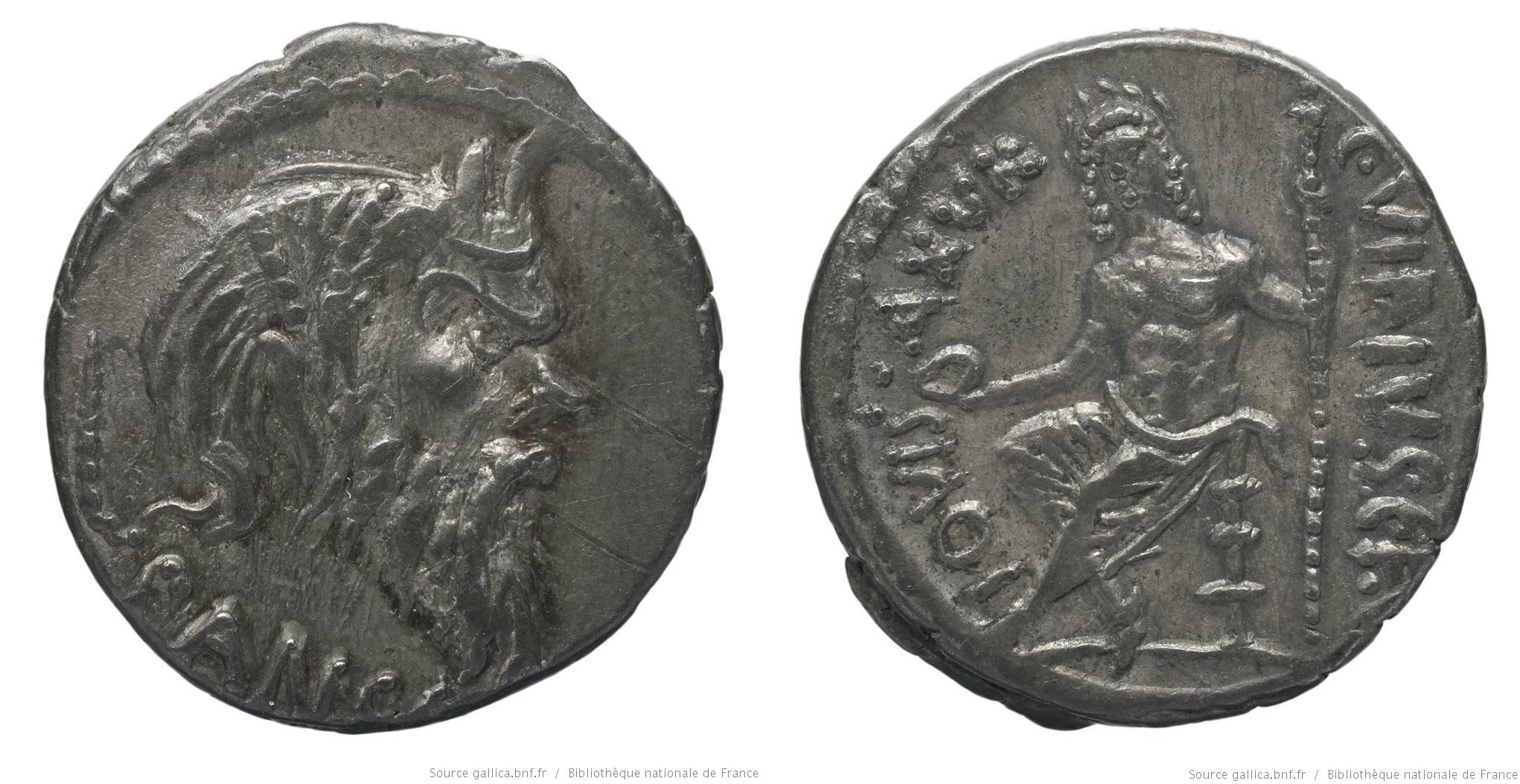 1434VI – Denier Vibia – Caius Vibius Pansa