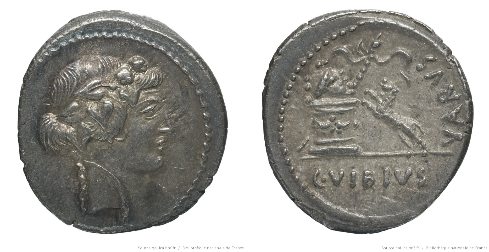 You are currently viewing 1614VI – Denier Vibia – Caius Vibius Varus