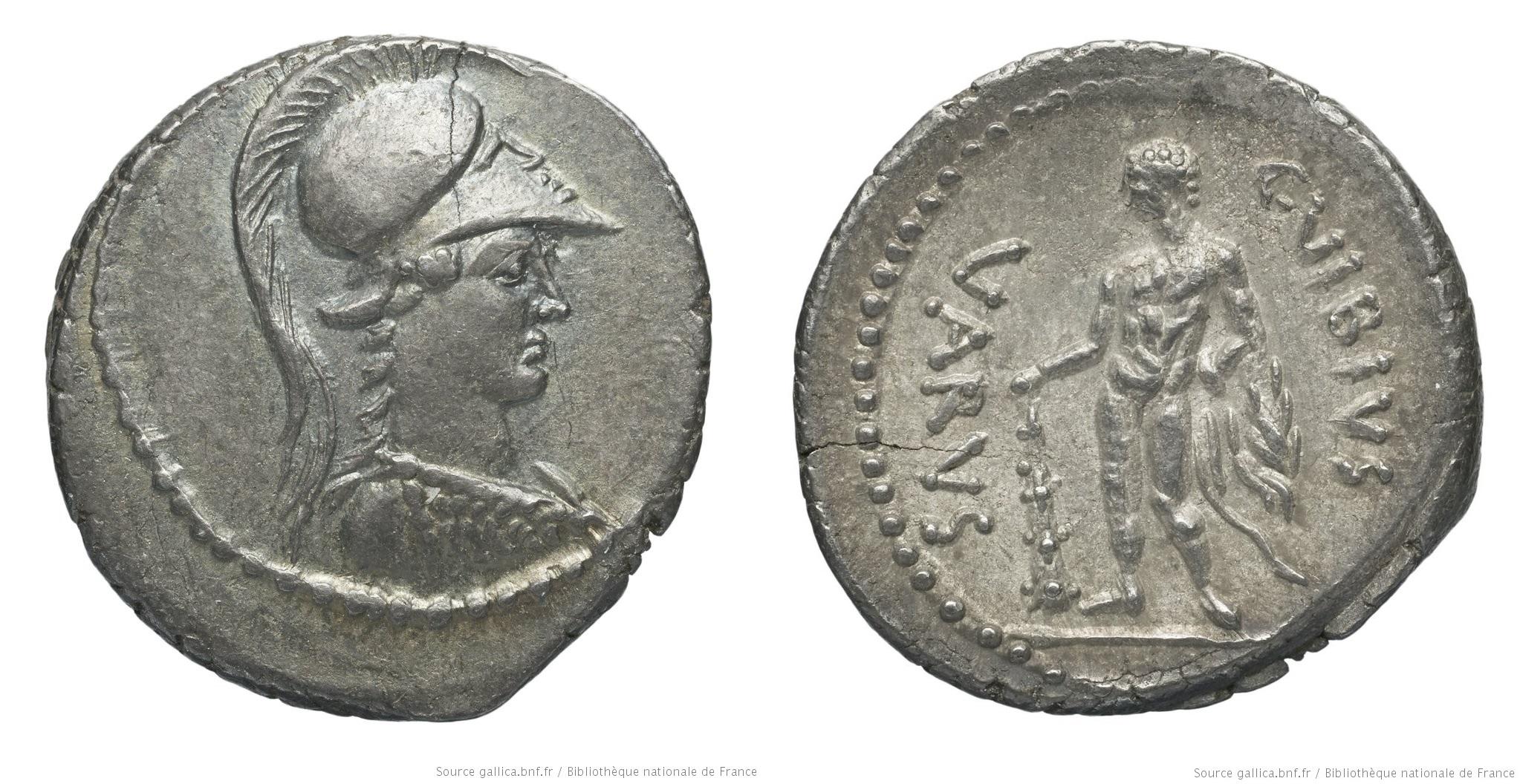 1616VI – Denier Vibia – Caius Vibius Varus