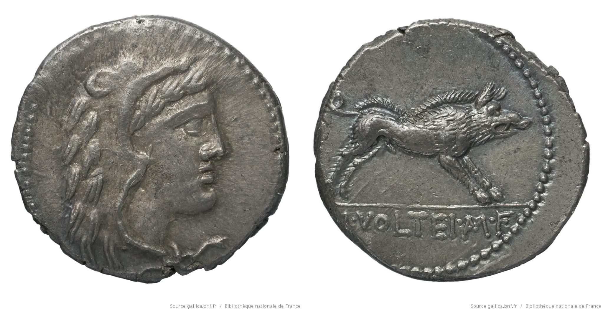 1319VO – Denier Volteia – Marcus Volteius
