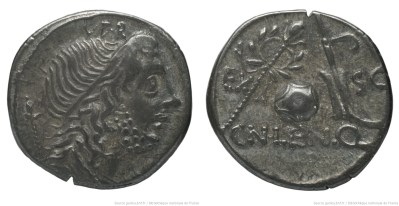 1334CO – Denier Cornelia – Cnæus Cornelius Lentulus Marcellinus