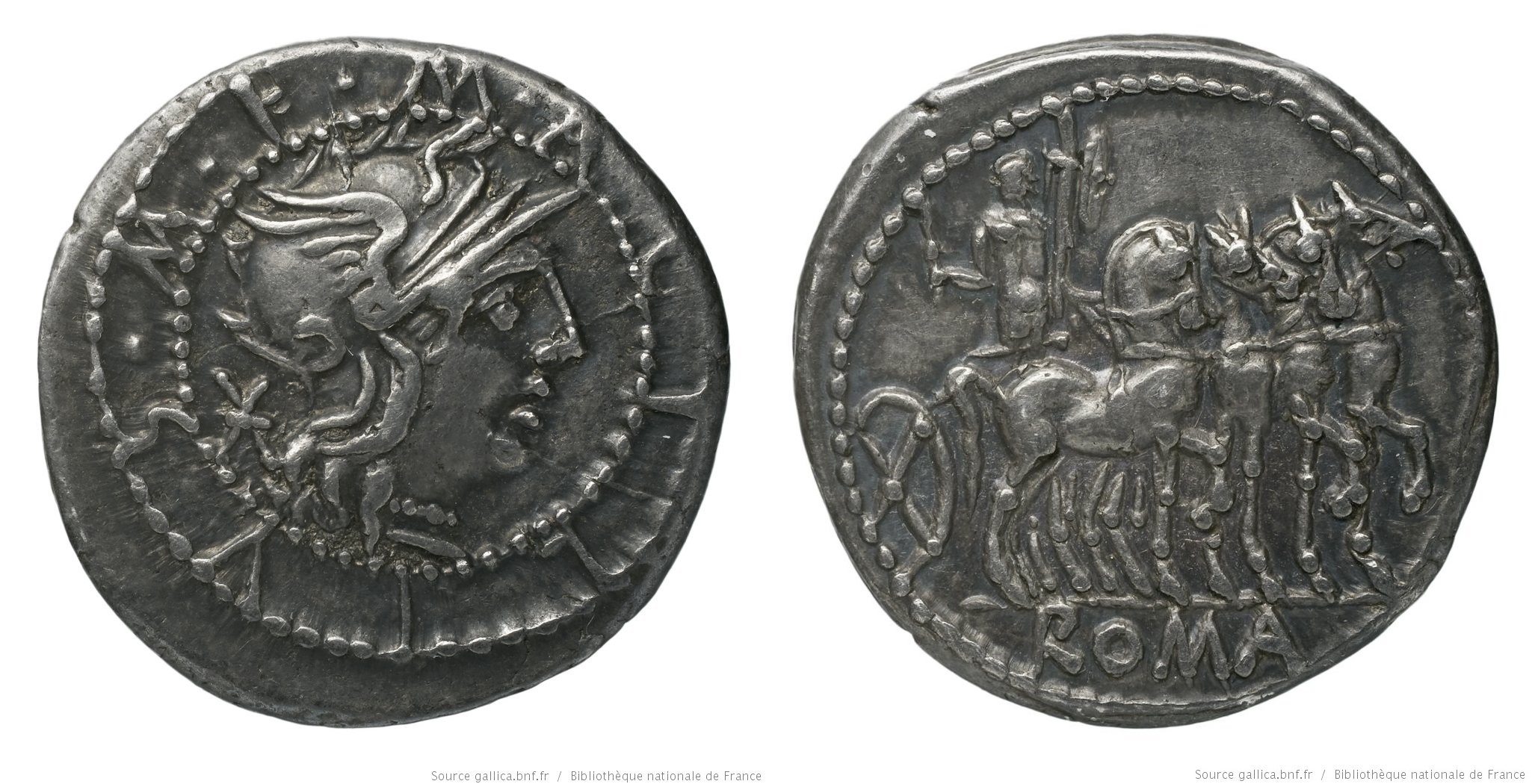 993AC – Denier Acilia – Marcus Acilius