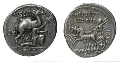 1390AE – Denier Aemilia – Marcus Æmilius Scaurus