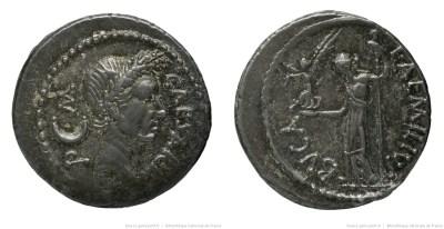 1527JU – Denier César – Lucius Aemilius Buca