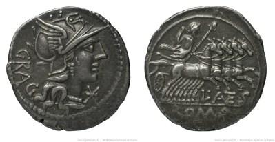928AN – Denier Antestia – Lucius Antestius Gragulus