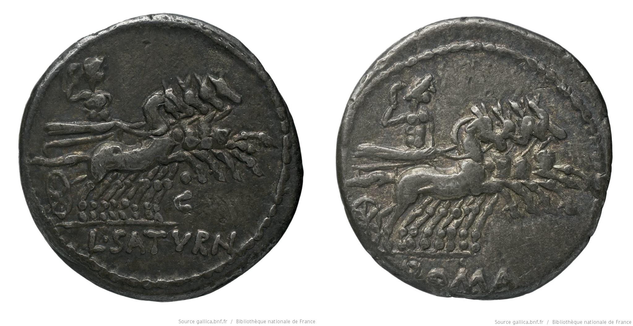 1147AP – Denier Appuleia – Lucius Appuleius Saturninus