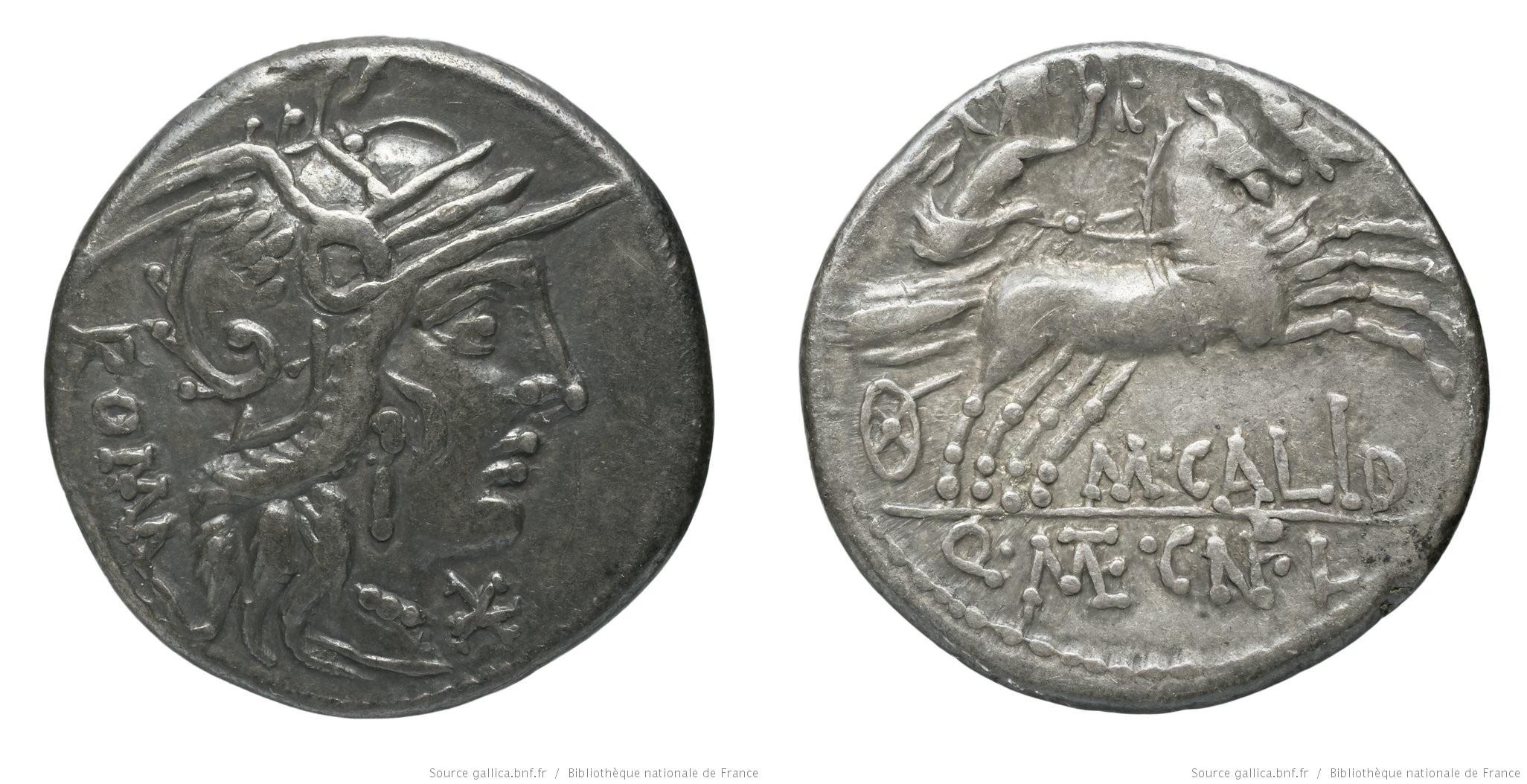 1074CA – Denier Calidia – Marcus Calidius