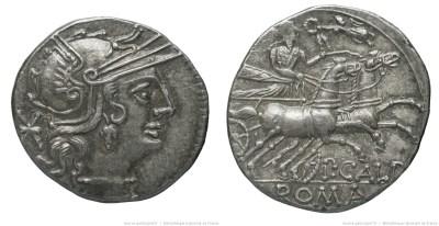 970CA – Denier Calpurnia – Publius Calpurnius