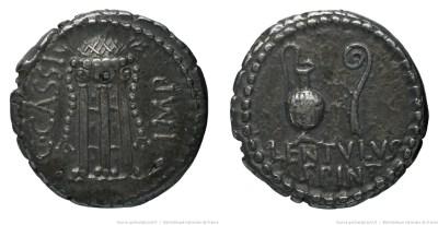1633CA – Denier Cassius – Lentulus Spinther