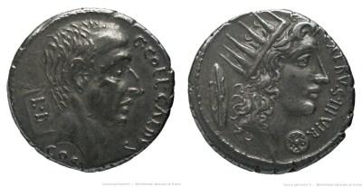 1416CO – Denier Coelia – Caius Cœlius Caldus