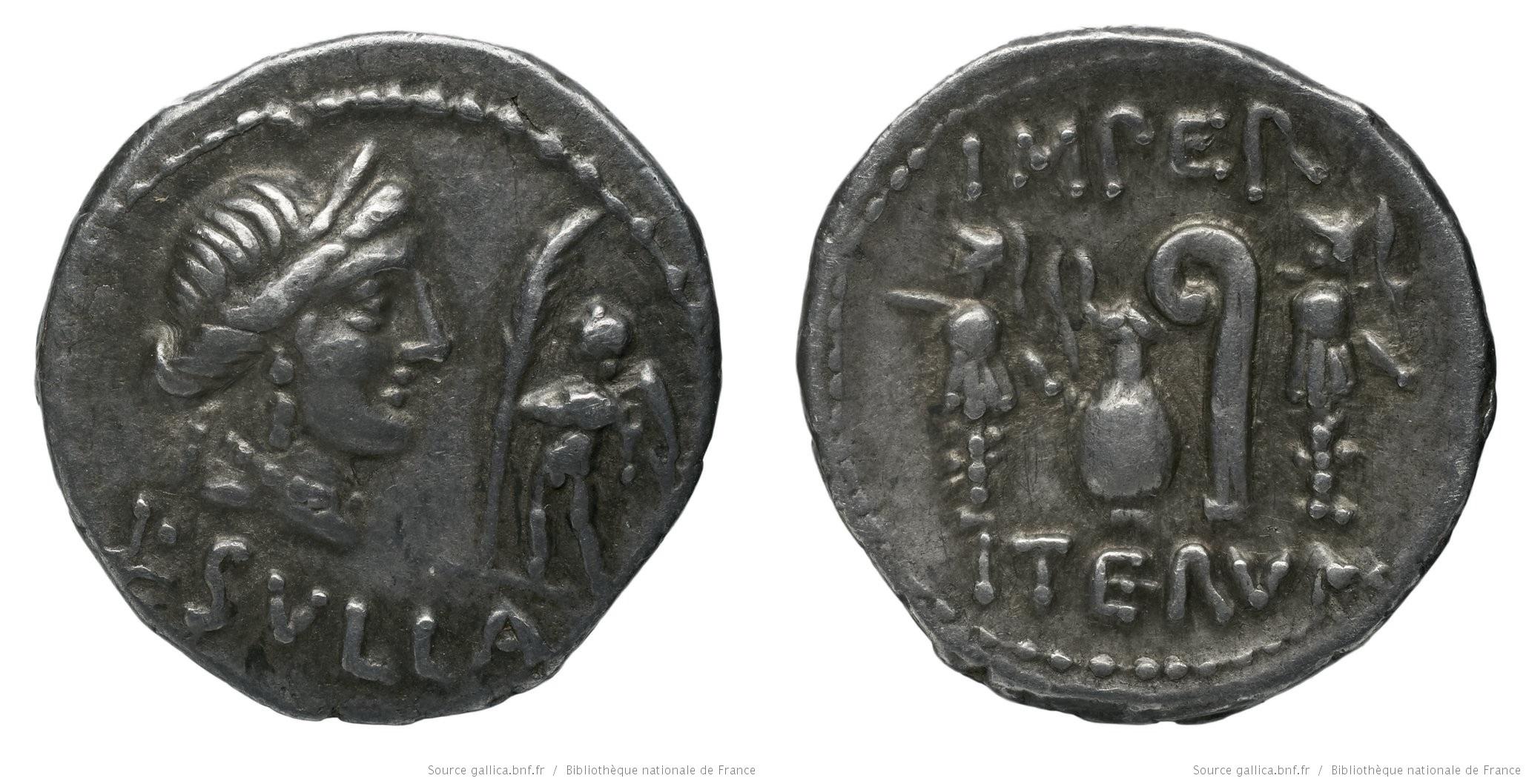 You are currently viewing 1281CO – Denier Sylla – Lucius Cornelius Sulla