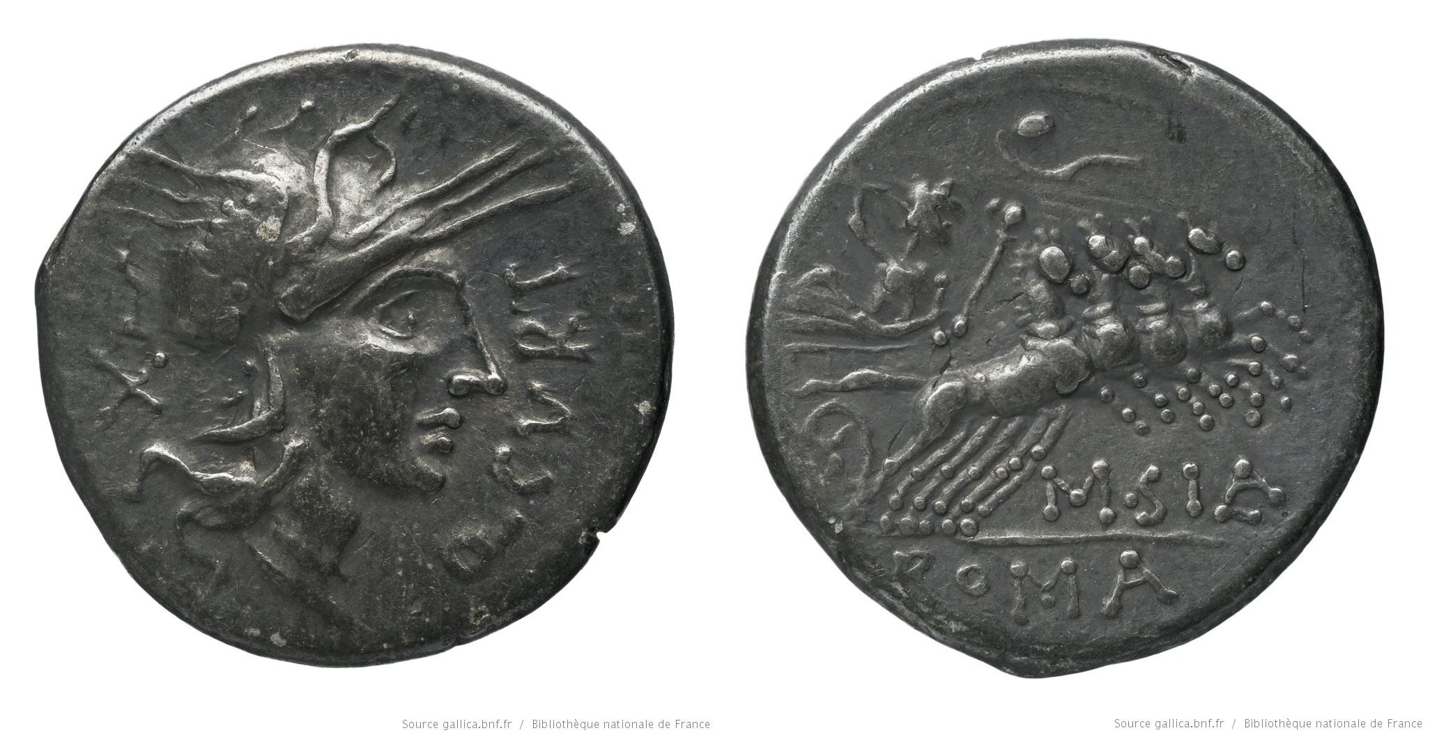1077CU – Denier Curtia – Quintus Curtius