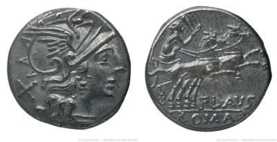 847DE – Denier Decimia – Decimius Flavus