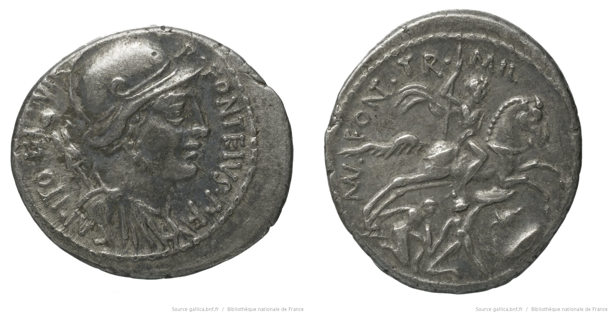 You are currently viewing 1405FO – Denier Fonteia –  Publius Fonteius Capito