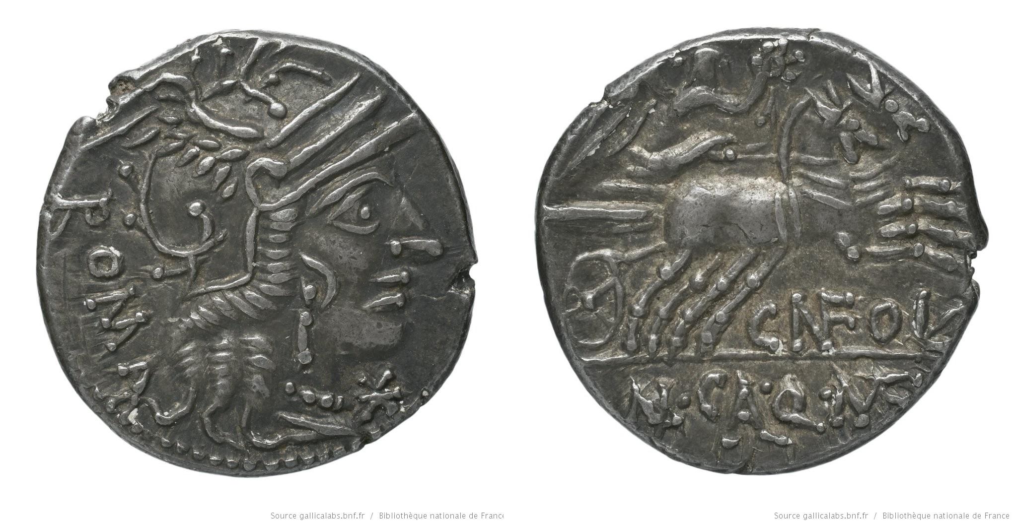 1075FU – Denier Fulvia – Cneius Fulvius