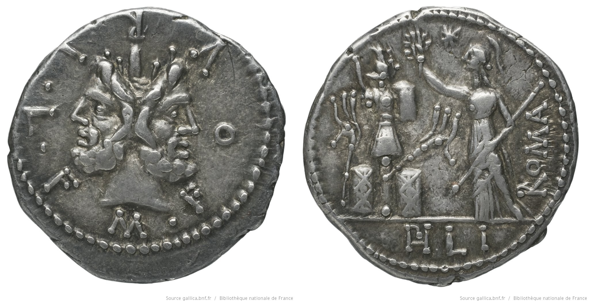 1066FU – Denier Furia – Marcus Furius Philus