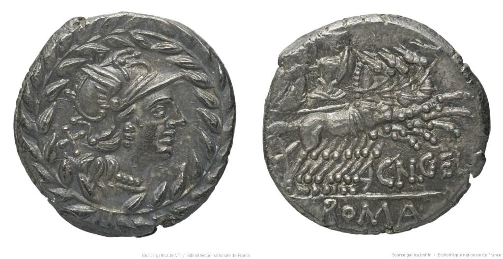 916GE – Denier Gellia – Cnæus Gellius