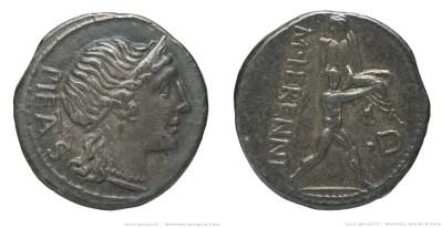 1125HE – Denier Herennia – Marcus Herennius