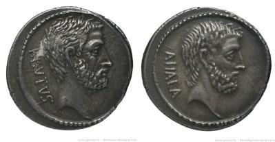1411JU – Denier Brutus – Caius Servilius Ahala
