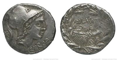 1120LU – Denier Lutatia – Quintus Lutatius Cerco