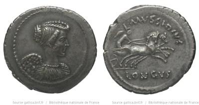 1618MU – Denier Mussidia – Lucius Mussidius Longus