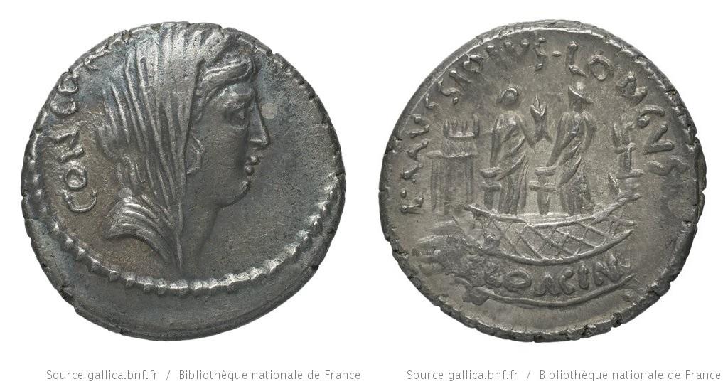 1620MU – Denier Mussidia – Lucius Mussidius Longus