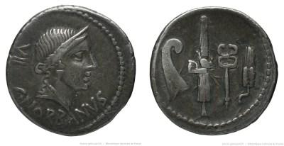 1277NO – Denier Norbana – Caius Norbanus