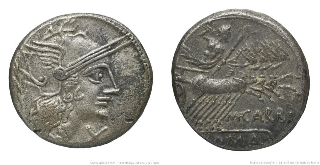 Read more about the article 1058PA – Denier Papiria – Marcus Papirius Carbo