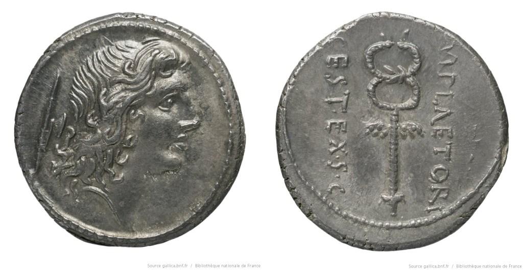 Read more about the article 1353PL – Denier Plaetoria – Marcus Plætorius Cestianus