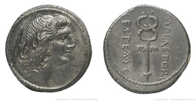 1353PL – Denier Plaetoria – Marcus Plætorius Cestianus