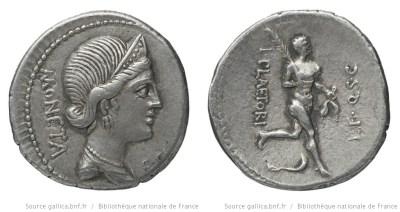 1338PL – Denier Plaetoria – L. Plaetorius Cestianus