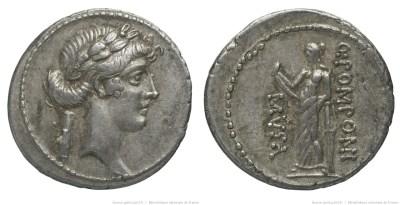 1363PO – Denier Pomponia – Quintus Pomponius Musa