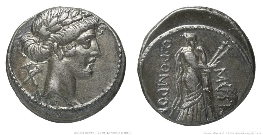 Read more about the article 1365PO – Denier Pomponia – Quintus Pomponius Musa