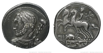 Read more about the article 1111QU – Denier Quinctia – Tiberius Quinctius
