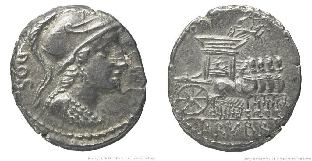 Read more about the article 1252RU – Denier Rubria – Lucius Rubrius Dossenus