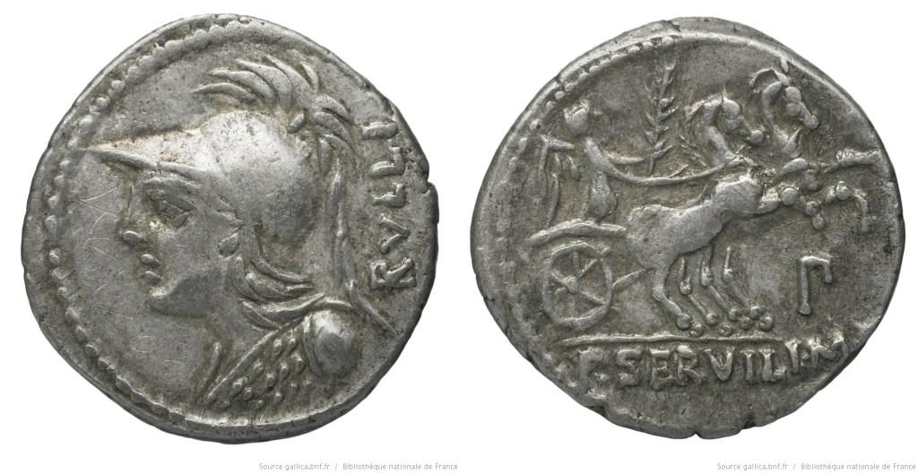 Read more about the article 1163SE – Denier Servilia – Publius Servilius Rullus