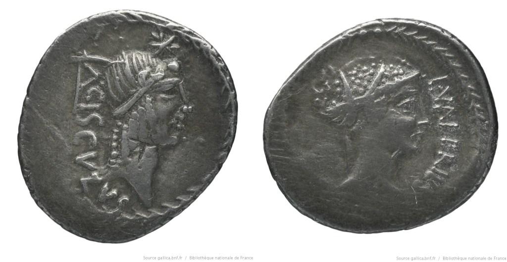 1509VA – Denier Valeria – Lucius Valerius Acisculus