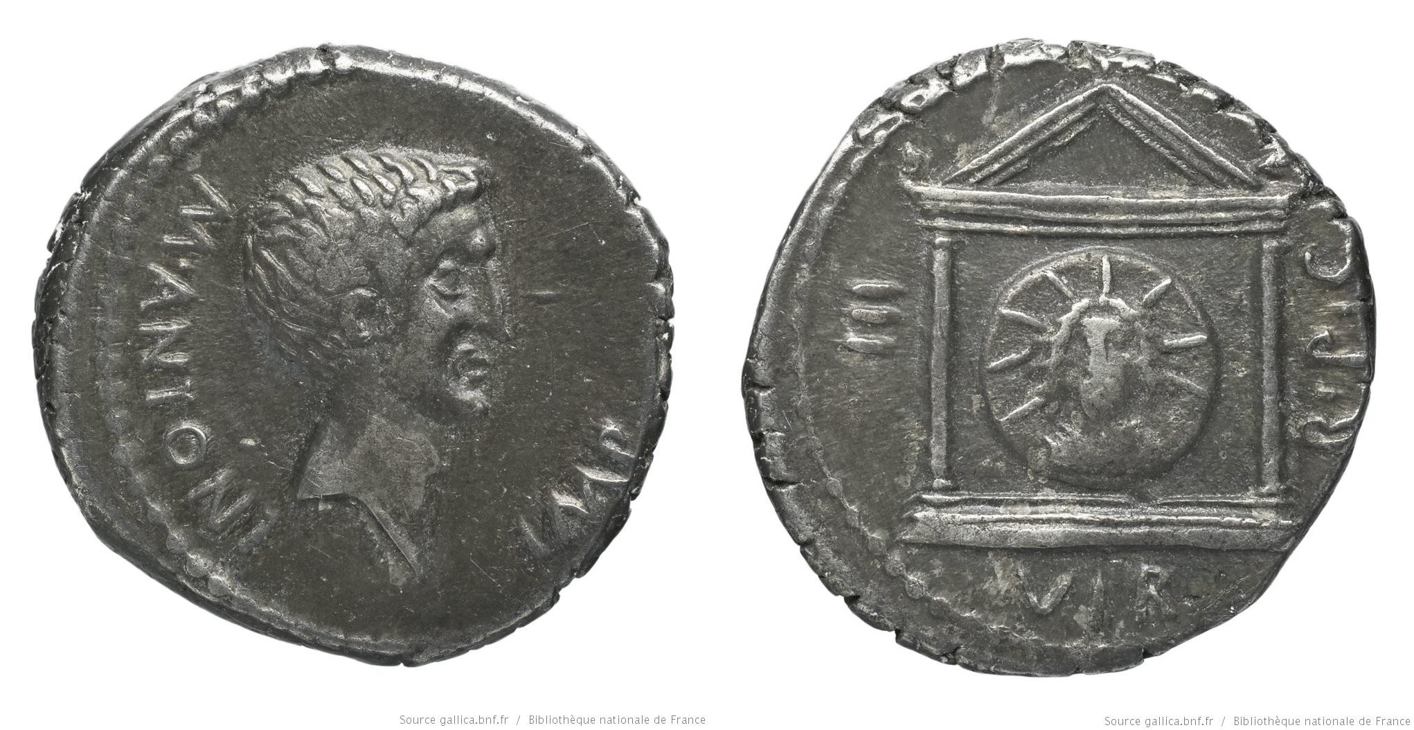 1625AN – Denier Marc Antoine – Marcus Antonius